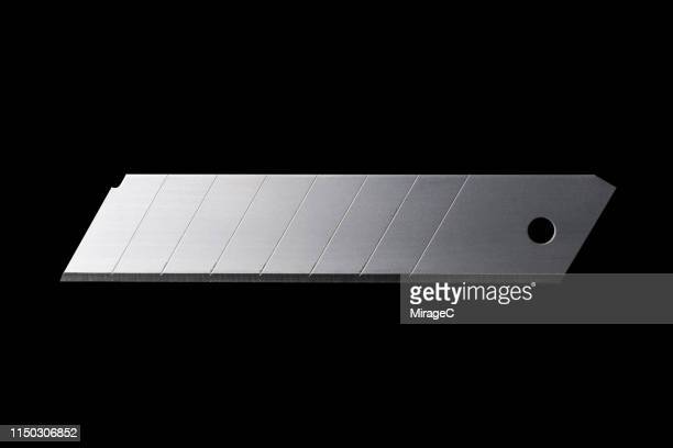 utility knife replacement blade - utility knife stock pictures, royalty-free photos & images