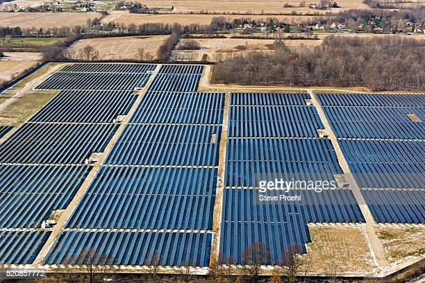 utility solar - indianapolis stock pictures, royalty-free photos & images