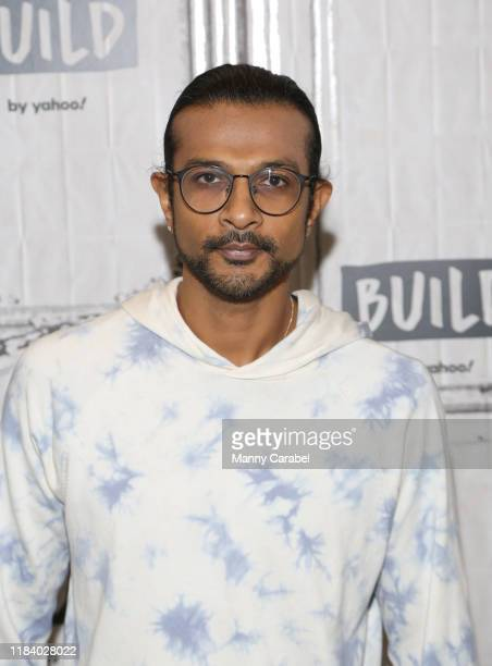 Utkarsh Ambudkar attends Build Series to discuss Freestyle Love Supreme at Build Studio on October 28 2019 in New York City