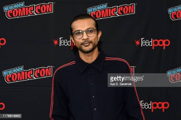 "Utkarsh Ambudkar attends New York Comic Con in support of ""Free Guy"" at The Jacob K. Javits Convention Center on October 03, 2019 in New York City."