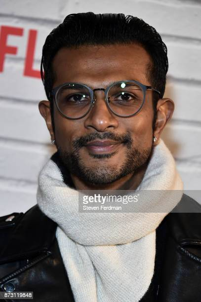 Utkarsh Ambudkar attends the Netflix Original Series 'She's Gotta Have It' Premiere at Brooklyn Academy of Music on November 11 2017 in New York City