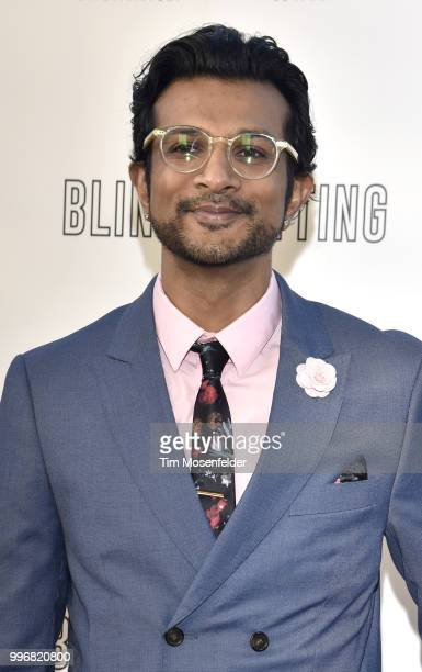 Utkarsh Ambudkar attends the premiere of Summit Entertainment's 'Blindspotting' at The Grand Lake Theater on July 11 2018 in Oakland California
