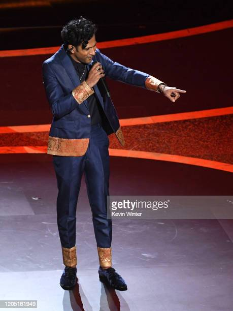 Utkarsh Ambudkar performs onstage during the 92nd Annual Academy Awards at Dolby Theatre on February 09, 2020 in Hollywood, California.
