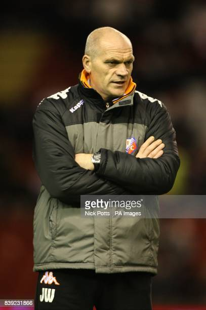 FC Utrecht assistant manager Jan Wouters prior to kick off