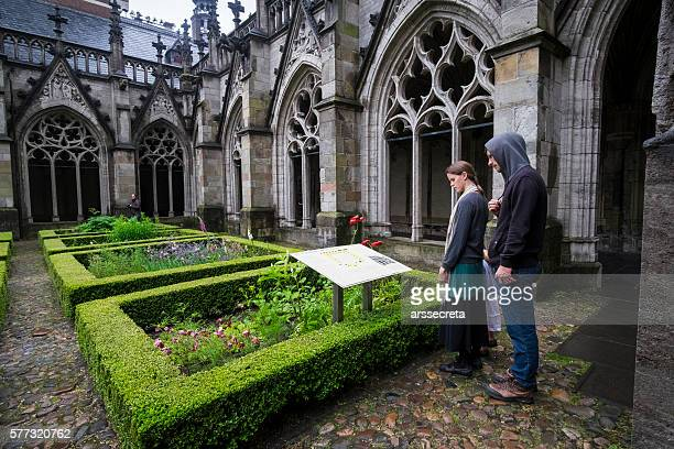 Utrecht cloister cathedral