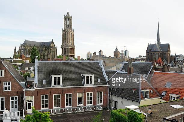 ユトレヒトオランダ、dom教会 - ユトレヒト ストックフォトと画像