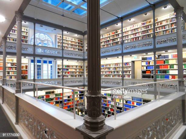 utrecht university library, utrecht, the netherlands - frans sellies stockfoto's en -beelden