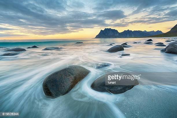 Uttakleiv Beach, Lofoten, Norway