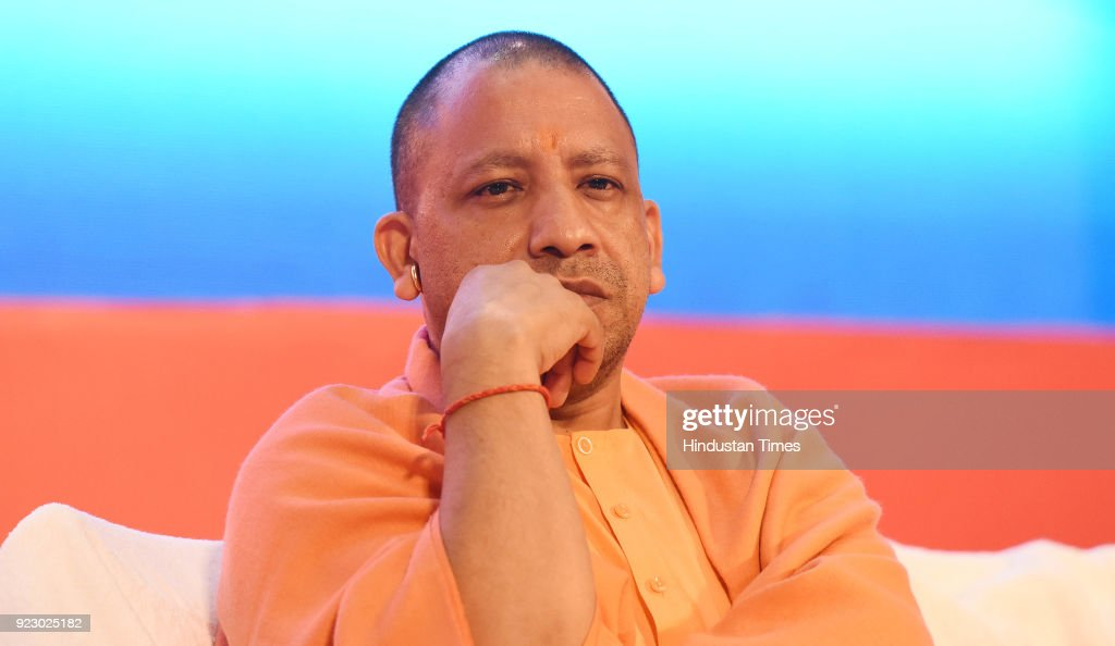 Uttar Pradesh chief minister Yogi Adityanath during the last day session of the Uttar Pradesh Investors Summit-2018 at the Indira Gandhi Pratishthan on February 22, 2018 in Lucknow, India. During UP Investors Summit, the state has attracted memorandum of understanding (MoUs) worth a whopping Rs 4.28 lakh crore.