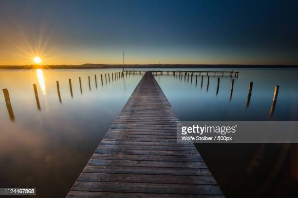 utting am ammersee, germany - wasser stock pictures, royalty-free photos & images