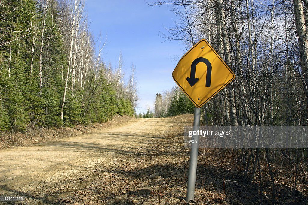 U-Turn : Stock Photo