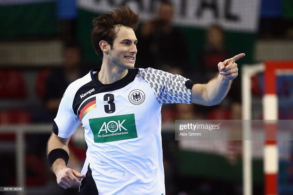 Germany v Hungary - 25th IHF Men's World Championship 2017 : News Photo