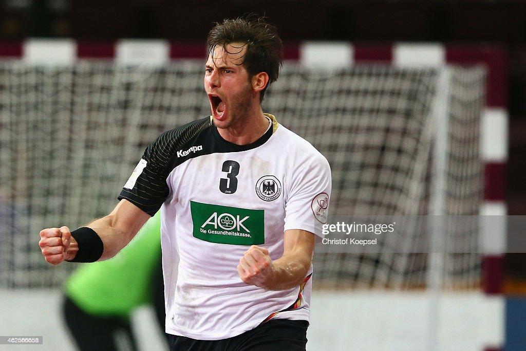 Germany v Slovenia - 8th Place Match: 24th Men's Handball World Championship : News Photo