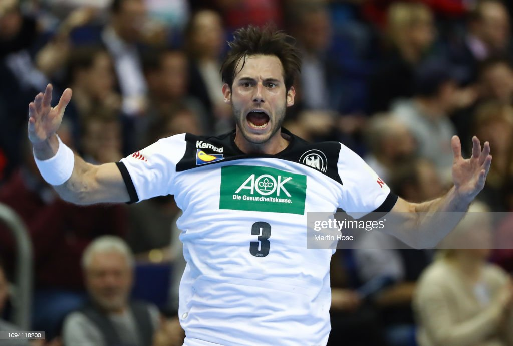 Russia v Germany: Group A - 26th IHF Men's World Championship : News Photo