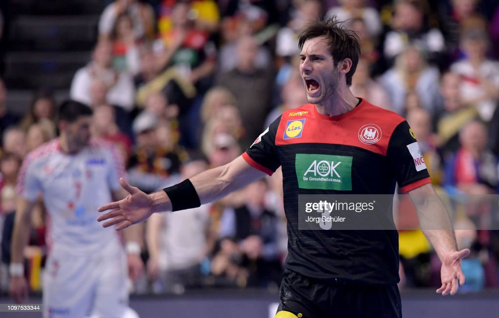 Croatia v Germany: Group 1 - 26th IHF Men's World Championship : News Photo