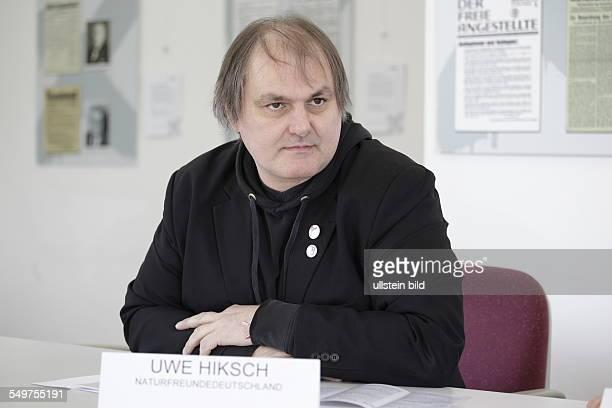 Uwe Hiksch, Bundesvorstand der NaturFreunde Deutschlands