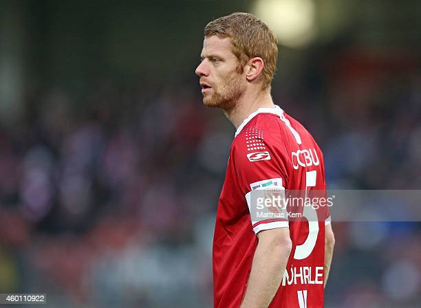Uwe Moehrle of Cottbus looks on during the third league match between FC Energie Cottbus and VFL Osnabrueck at Stadion der Freundschaft on December...
