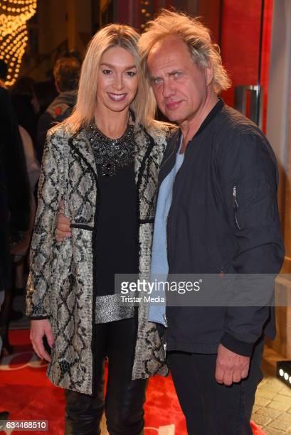 Uwe Ochsenknecht and his girlfriend Kirsten Kiki Viebrock attend the Opening Night By GALA UFA on February 9 2017 in Berlin Germany