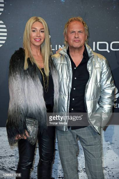 Uwe Ochsenknecht and his wife Kirsten Kiki Viebrock attend the PLACE TO B Berlinale party during 69th Berlinale International Film Festival at...