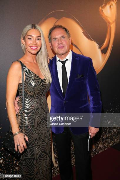 Uwe Ochsenknecht and his wife Kirsten Kiki Viebrock during the 71th Bambi Awards winners board at Festspielhaus BadenBaden on November 21 2019 in...