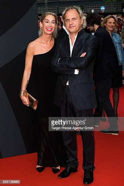 Uwe Ochsenknecht and Kiki Viebrock during the Deutscher Schauspielerpreis on May 20, 2016 in Berlin, Germany.