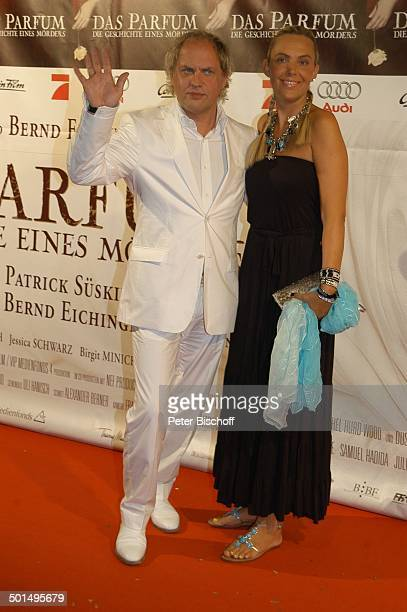 Uwe Ochsenknecht Ehefrau Natascha Premiere vom Kinofilm Das Parfum Die Geschichte eines Mörders München Bayern Deutschland Europa Roter Teppich Film...