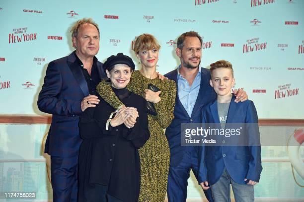 """Uwe Ochsenknecht, Katharina Thalbach, Heike Makatsch, Moritz Bleibtreu and Marlon Schramm attend the world premiere of the movie """"Ich war noch..."""