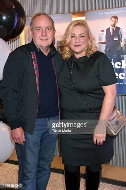 Uwe Preuss and Petra Kleinert attend the Check Check Joyn event at Astor Film Lounge on October 17 2019 in Berlin Germany