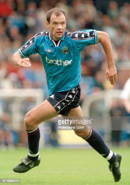 Uwe Rosler of Manchester City in action circa 1997