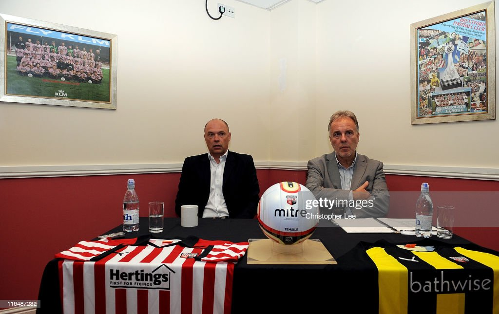 Brentford FC Unveil New Team Manager - Uwe Rosler : News Photo