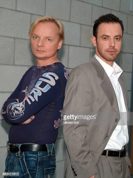Uwe Steimle und Felix Eitner sind die Kommissare in NDRFernsehserie Polizeiruf 110