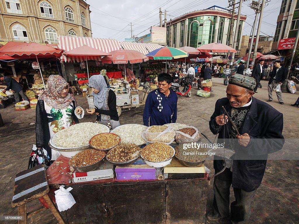Kashgar Market : News Photo