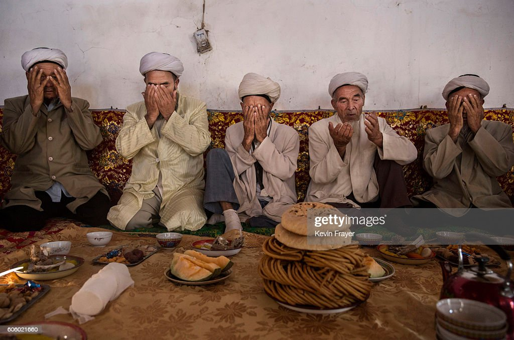 China's Uyghur Minority Marks Muslim Holiday In Country's Far West : News Photo