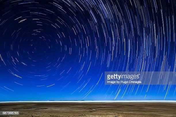 Uyuni star trails