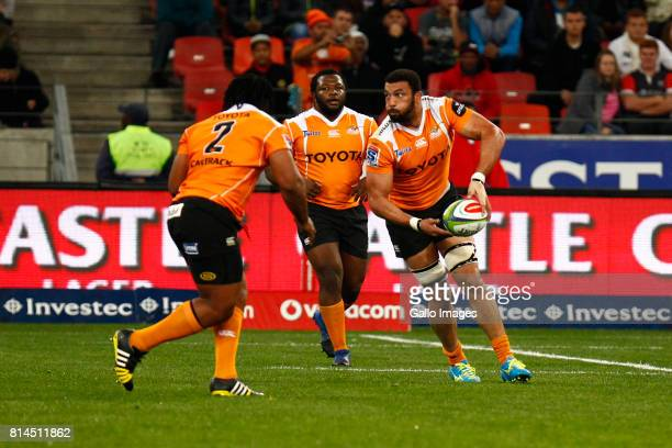 Uzair Cassiem of the Cheetahs during the Super Rugby match between Southern Kings and Toyota Cheetahs at Nelson Mandela Bay Stadium on July 14 2017...