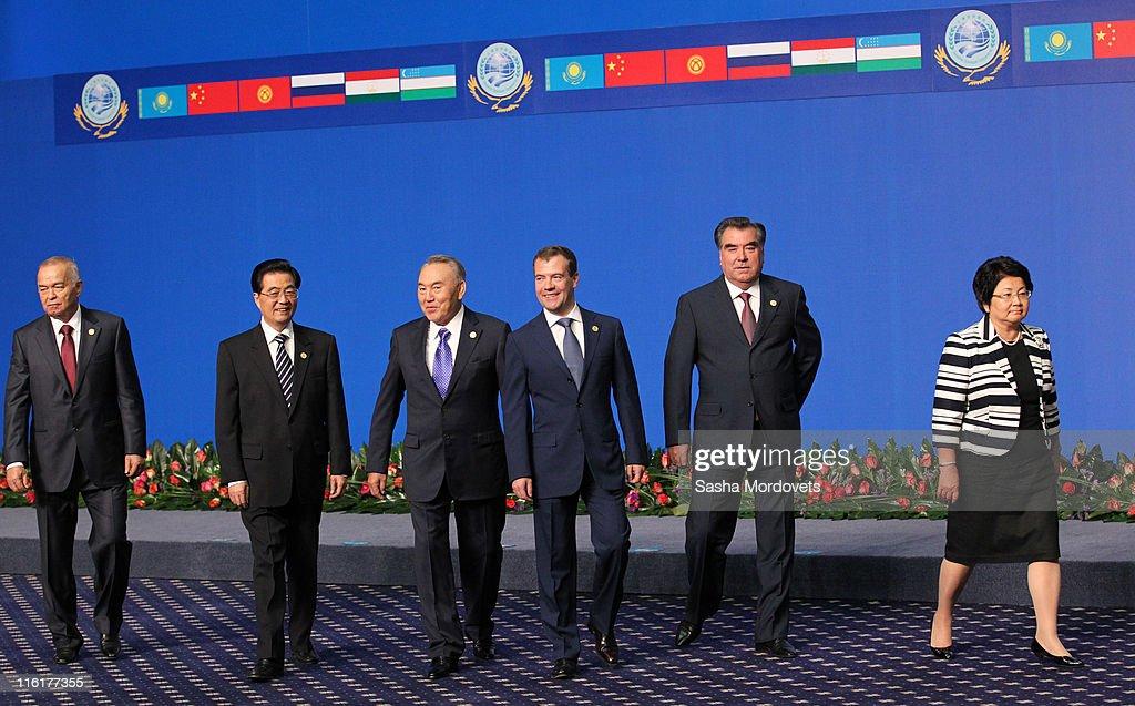 Shanghai Cooperation Organisation In Kasakhstan