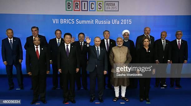 Uzbek President Islam Karimov Tajik President Emomali Rakhmon South African President Jacob Zuma Pakistan's Prime Minister Muhammad Nawaz Sharif...