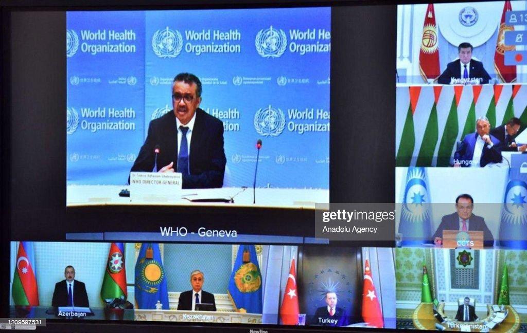 Extraordinary Meeting of Turkic Council Summit : Foto di attualità