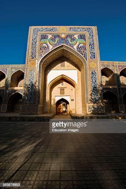 Uzbekistan Bukhara Nodir Devon Begi Madrasah