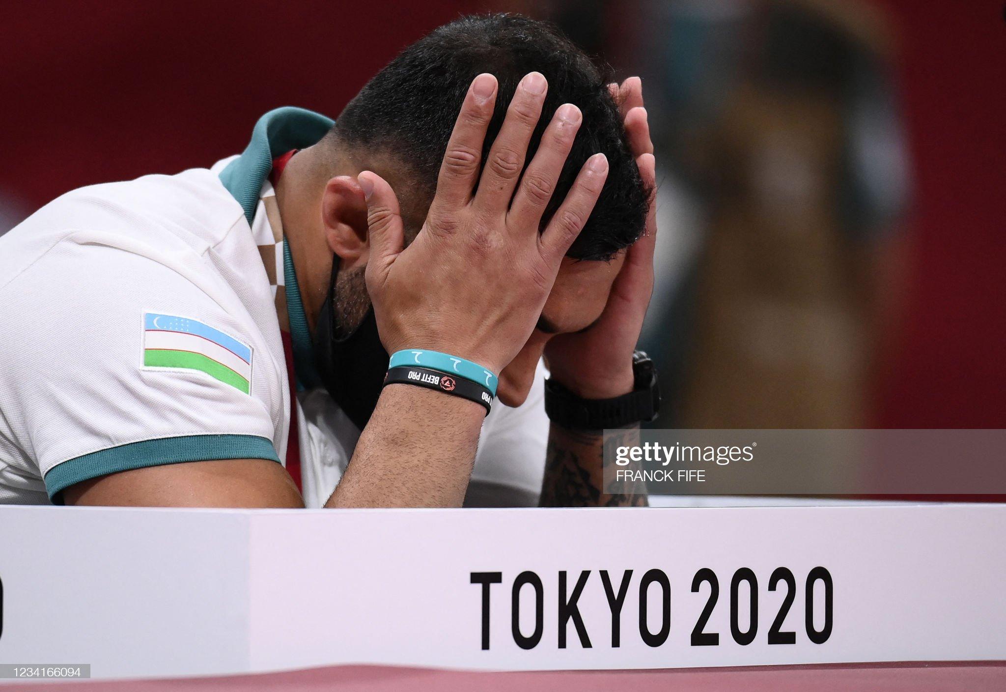 JUDO-OLY-2020-2021-TOKYO : News Photo