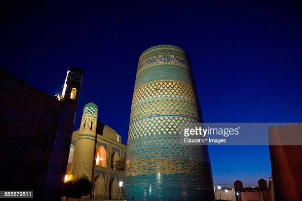 Uzbekistan Khiva Kalta Minaret