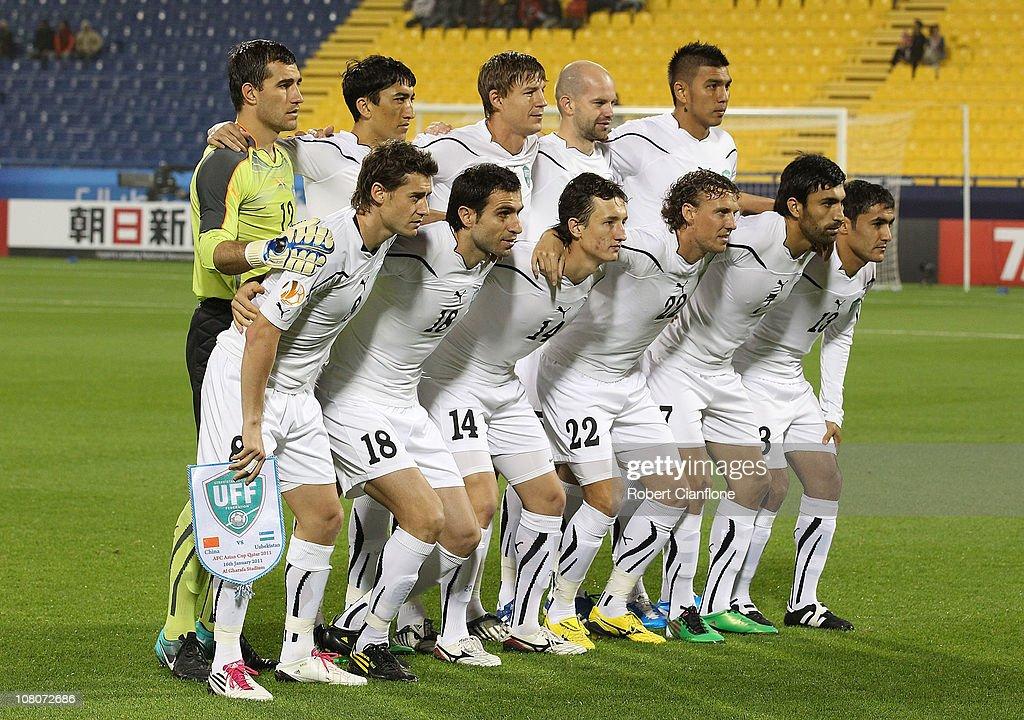 China P.R v Uzbekistan - Asian Cup Group A : ニュース写真