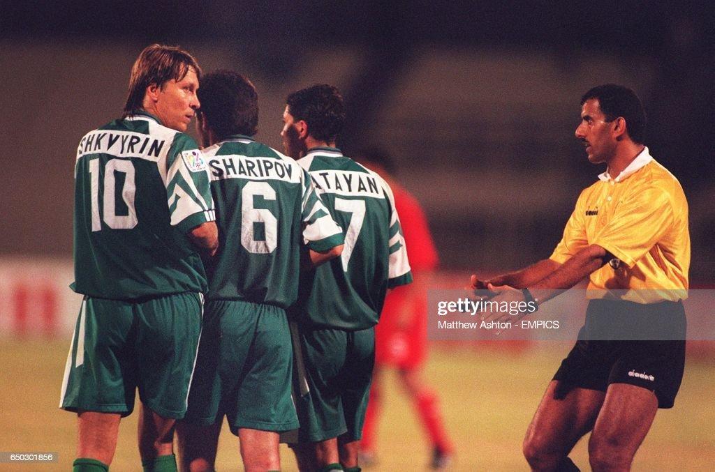 International Soccer - Asia 96 - Uzbekistan v Syria   News Photo b679c6e9f