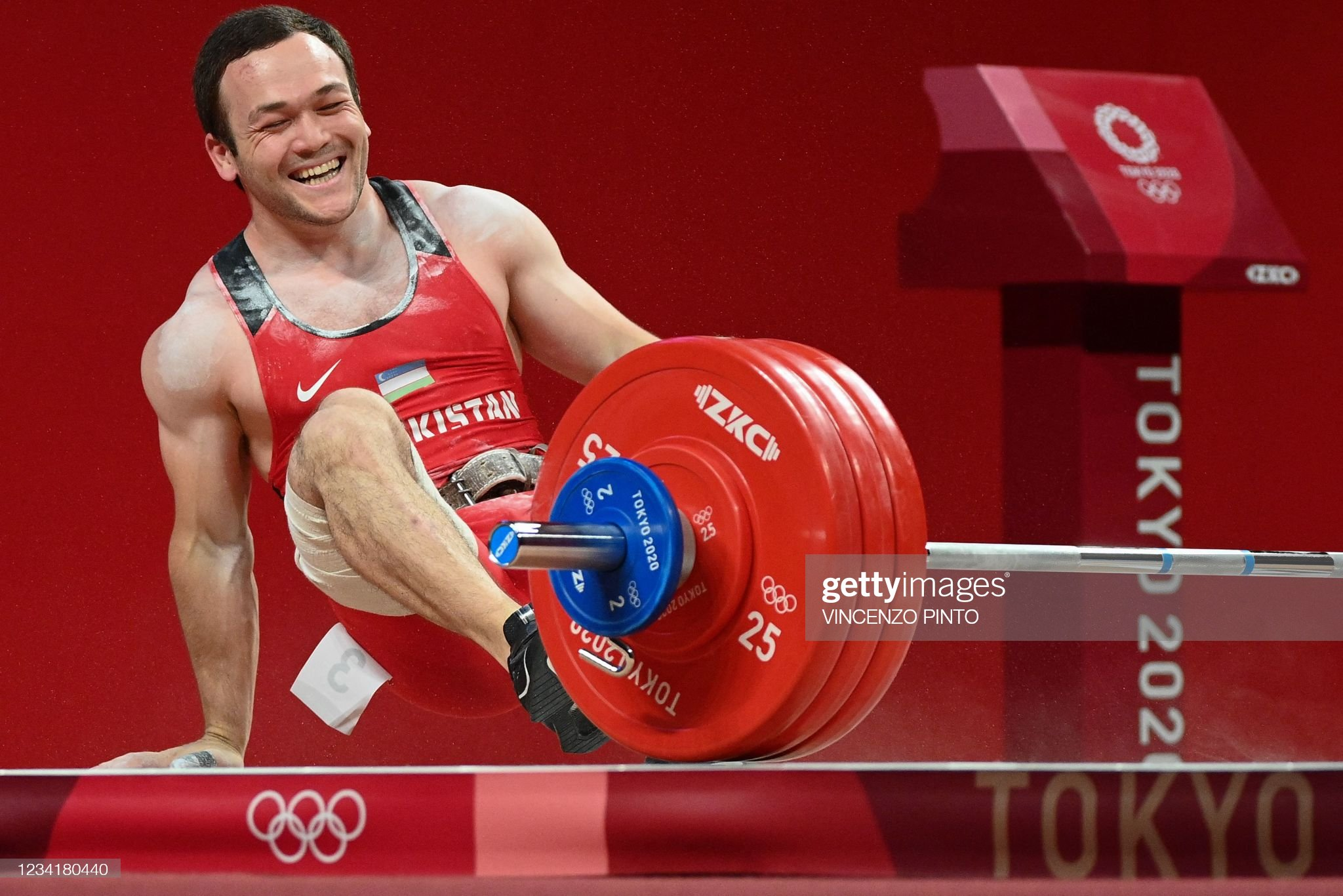 WEIGHTLIFTING-OLY-2020-2021-TOKYO : News Photo
