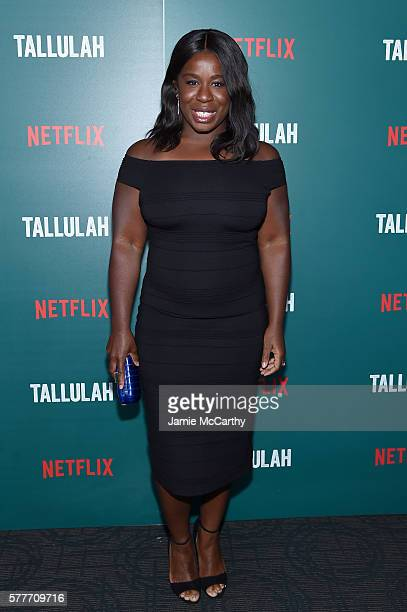 Uzo Aduba attends a special screening of Tallulah hosted by Netflix at Landmark Sunshine Cinema on July 19 2016 in New York City