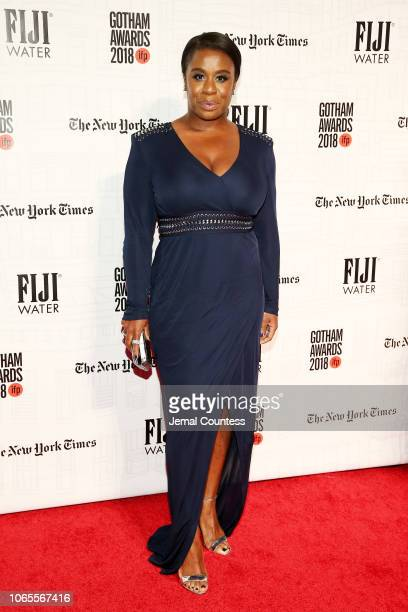 Uzo Aduba attends IFP's 28th Annual Gotham Independent Film Awards at Cipriani Wall Street on November 26 2018 in New York City