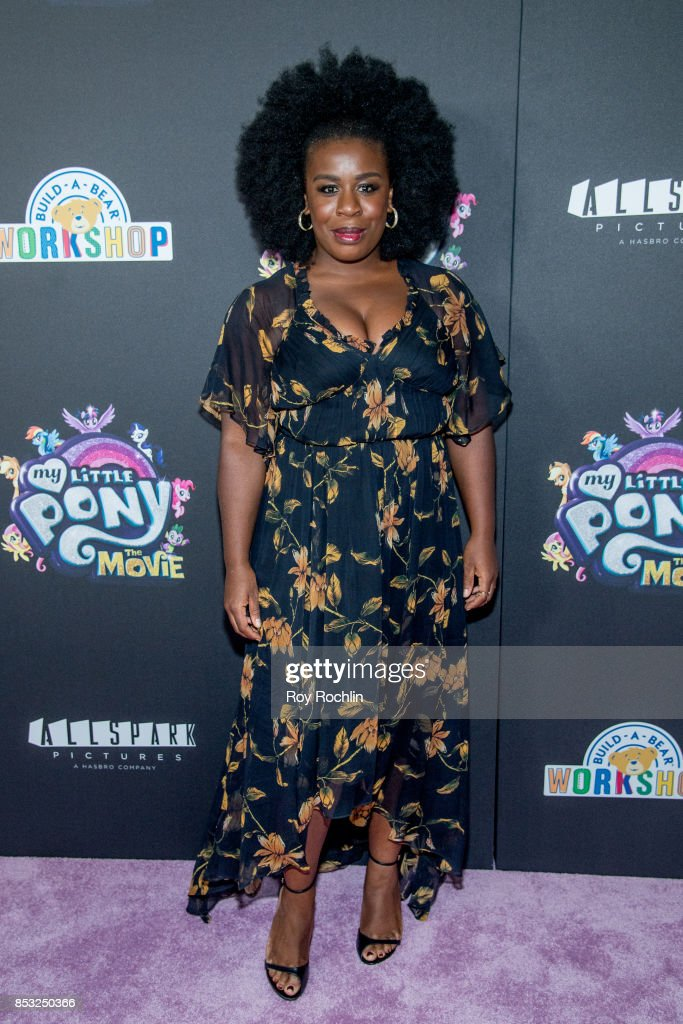 Uzo Aduba attends 'My Little Pony: The Movie' New York screening at AMC Lincoln Square Theater on September 24, 2017 in New York City.
