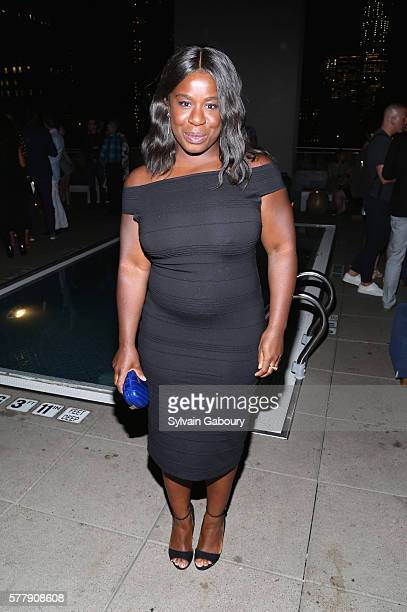 Uzo Aduba attends Netflix Hosts the After Party for Tallulah at The Jimmy at the James Hotel on July 19 2016 in New York City