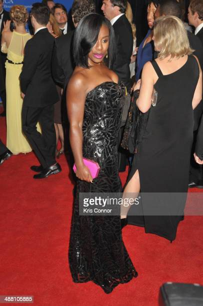 Uzo Aduba attends the 100th Annual White House Correspondents' Association Dinner at the Washington Hilton on May 3 2014 in Washington DC