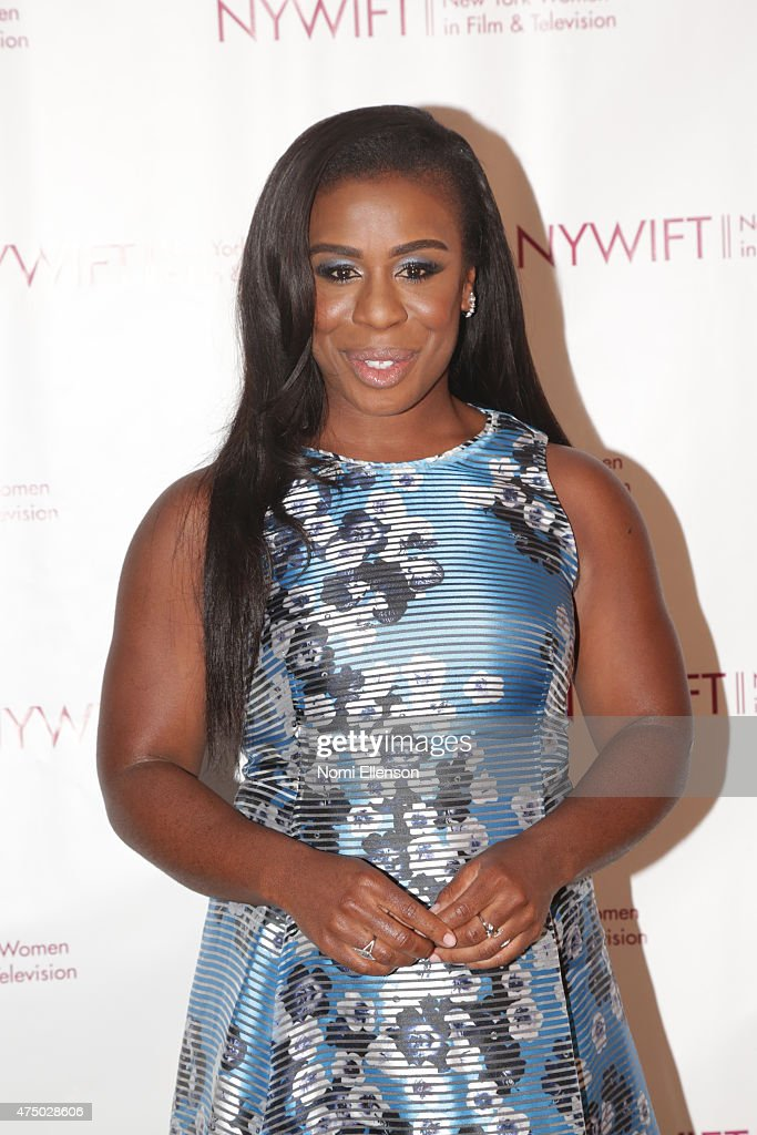 Uzo Aduba attends the 2015 New York Women in Film & Television Designing Women Awards Gala at Scholastic Auditorium on May 28, 2015 in New York City.